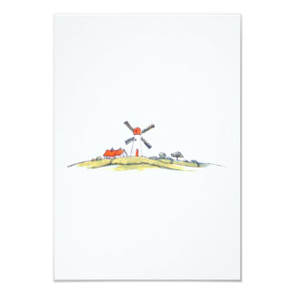 Dutch Windmill Card