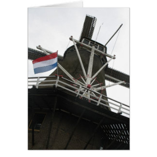 Dutch Windmill Greetings/ Note Card