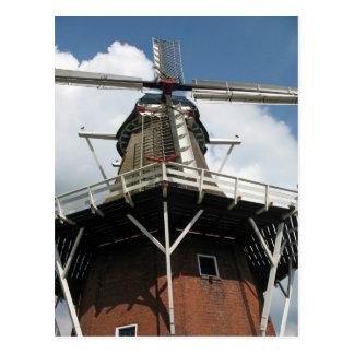 Dutch Windmill Post Card