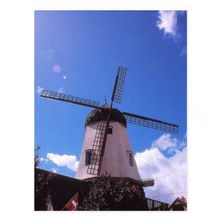 Dutch Windmill, Solvang CA Postcard