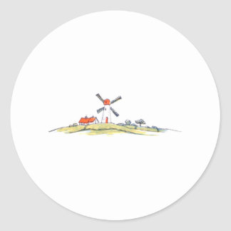 Dutch Windmill Stickers