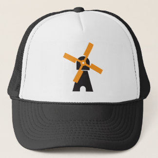 Dutch windmill trucker hat