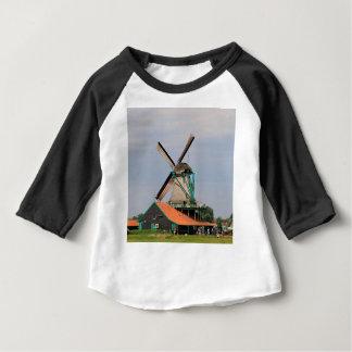 Dutch windmill village, Holland 3 Baby T-Shirt