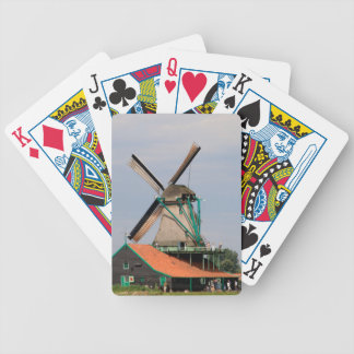 Dutch windmill village, Holland 3 Bicycle Playing Cards