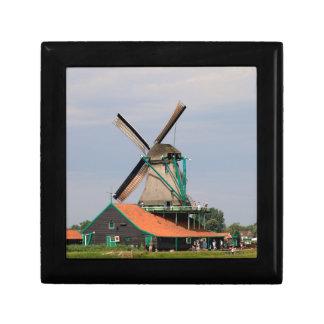 Dutch windmill village, Holland 3 Gift Box