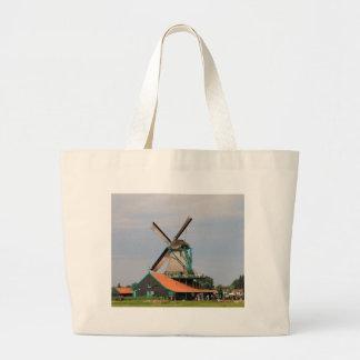 Dutch windmill village, Holland 3 Large Tote Bag