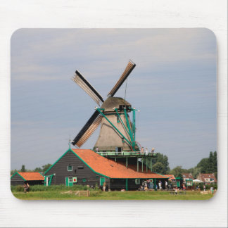 Dutch windmill village, Holland 3 Mouse Pad