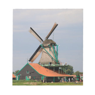 Dutch windmill village, Holland 3 Notepad