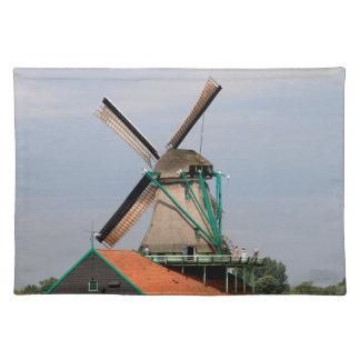 Dutch windmill village, Holland 3 Placemat