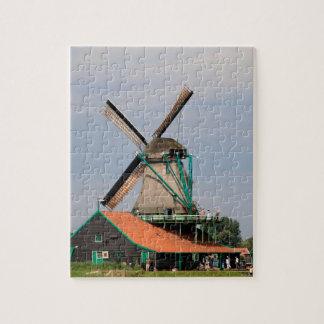Dutch windmill village, Holland 3 Puzzle