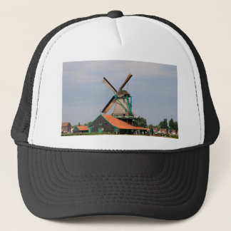 Dutch windmill village, Holland 3 Trucker Hat