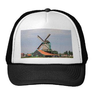 Dutch windmill village, Holland 3 Trucker Hat
