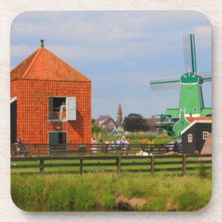 Dutch windmill village, Holland 4 Coaster