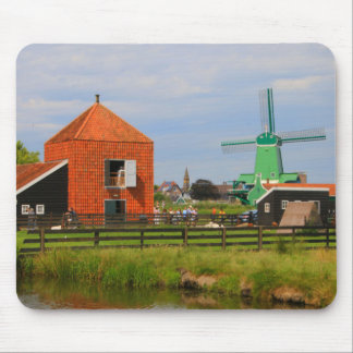 Dutch windmill village, Holland 4 Mouse Pad