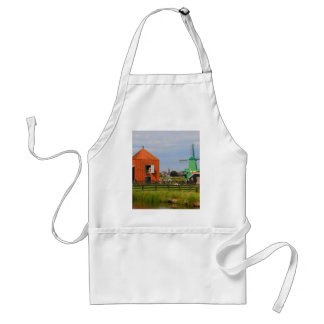 Dutch windmill village, Holland 4 Standard Apron