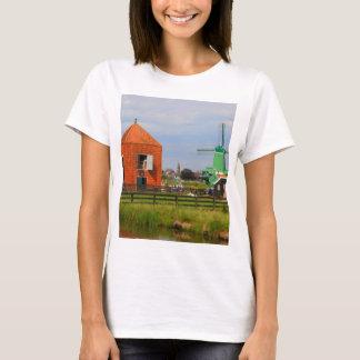 Dutch windmill village, Holland 4 T-Shirt