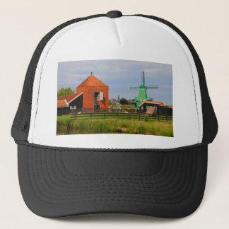 Dutch windmill village, Holland 4 Trucker Hat