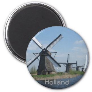 Dutch windmills magnet