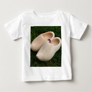 Dutch wooden clogs baby T-Shirt