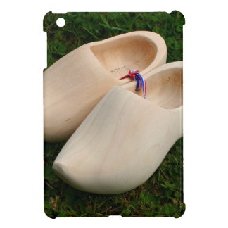 Dutch wooden clogs cover for the iPad mini