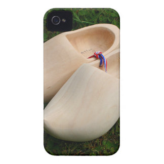 Dutch wooden clogs iPhone 4 cover