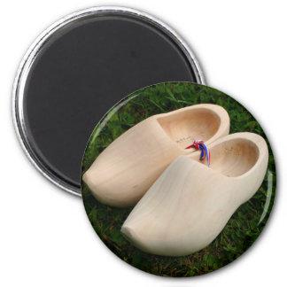 Dutch wooden clogs magnet