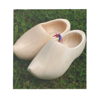 Dutch wooden clogs notepad