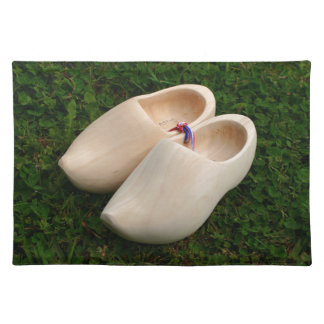Dutch wooden clogs placemat