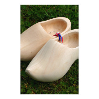 Dutch wooden clogs stationery
