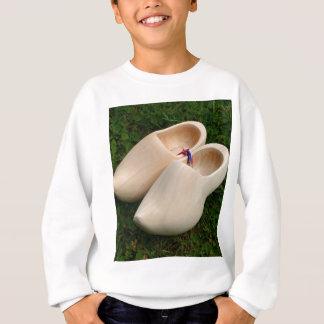 Dutch wooden clogs sweatshirt