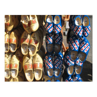 Dutch Wooden Shoes Photo Postcard