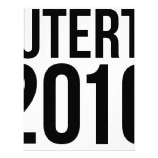 Duterte 2016 letterhead design