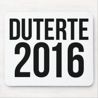 Duterte 2016 mouse pad