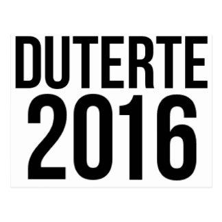 Duterte 2016 postcard