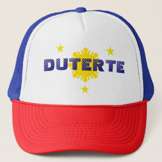Duterte for President Campaign Hat