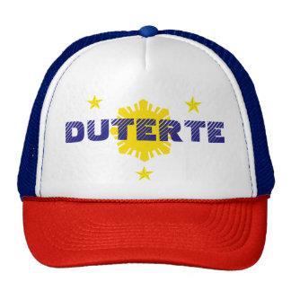 Duterte for President Campaign Hat