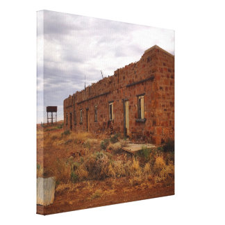 Dutton Siding ruins canvas print