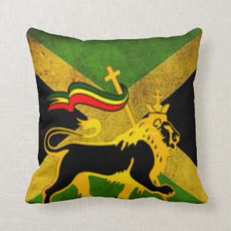 Dutty Tuff Jahmaica Throw Pillow