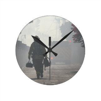 Duty Calls Round Clock