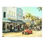 Duval Street Key West Florida Postcard