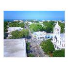 Duval Street, Key West Florida Postcard