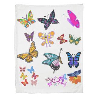 Duvet cover butterflies