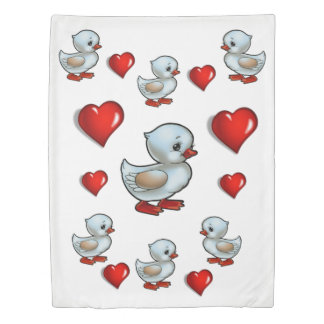 Duvet cover ducks
