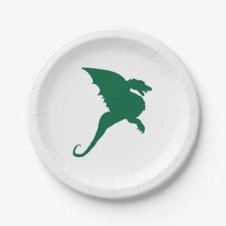 Duxbury Dragons - Duxbury MA. Paper Plate