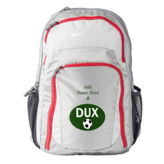 Duxbury Soccer Team - Oval Boys, Girls Backpack