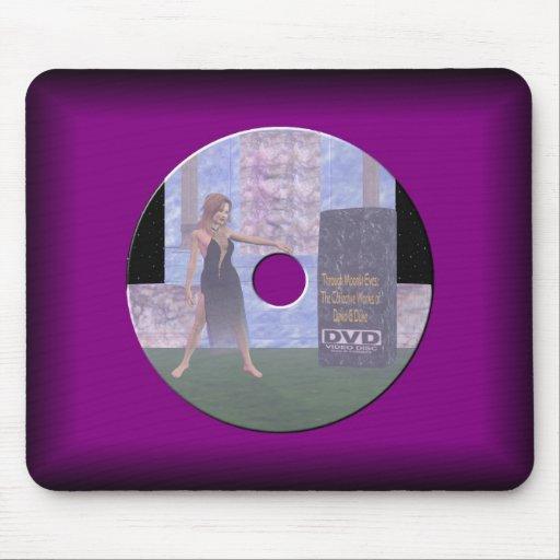 DVD Label Mousepad