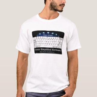 Dvorak Simplified Keyboard T-Shirt