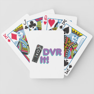 DVR It Bicycle Playing Cards