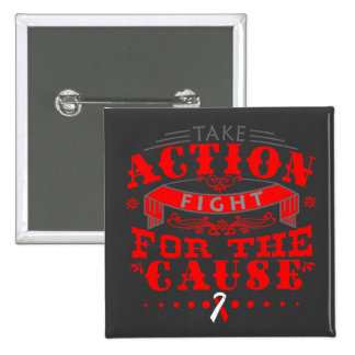 DVT Take Action Fight For The Cause Pin