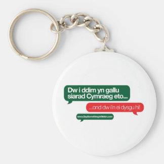 Dw i ddim yn gallu key chain